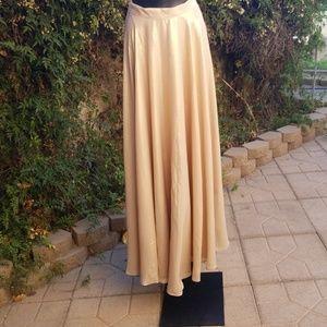 Lucy Paris gold skirt